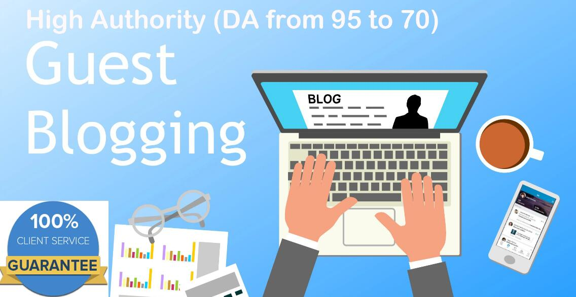 Submit Article to 3 High Guest Sites On Da 95 To 70 Sites