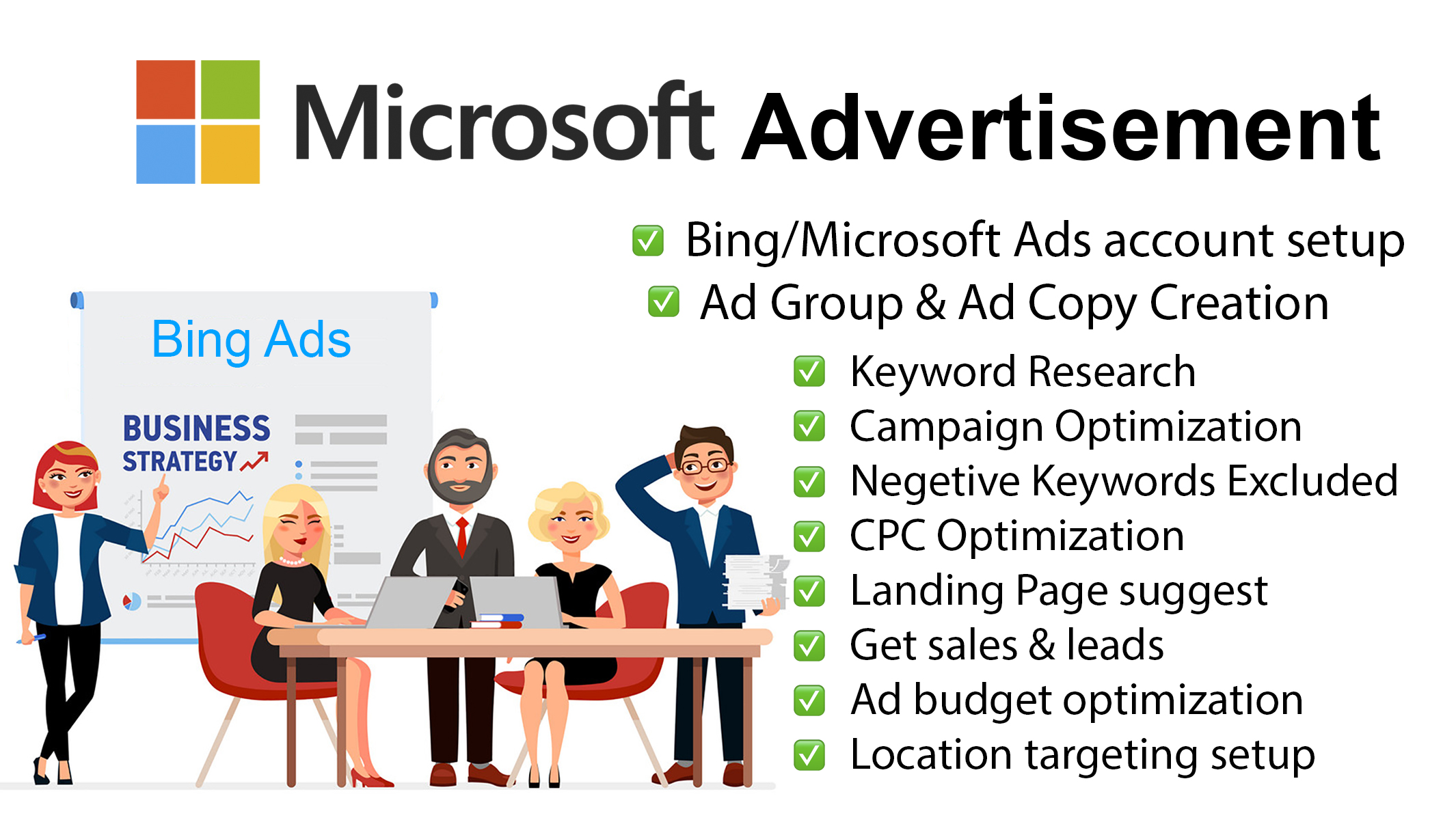 I will setup Microsoft Advertising Campaign for Affiliate Marketing