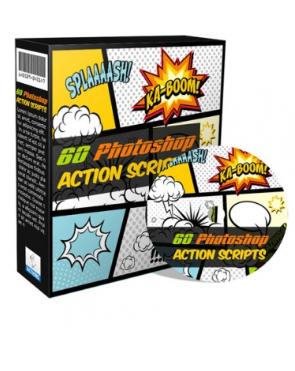 Get 60 Photoshop Action Scripts