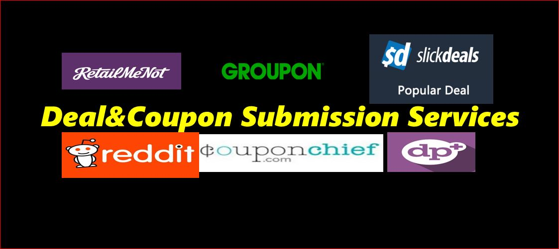 I can Submit and Promote Coupon Code and Deals on Trending Deal sites