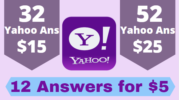 Boost your website in 12 yahoo answers