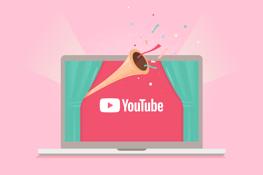 create amazing youtube video intro logo animation