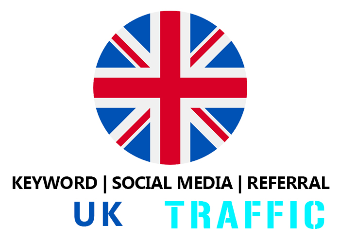 send United Kingdom Organic Keyword, Social Media, Referral Real Traffic