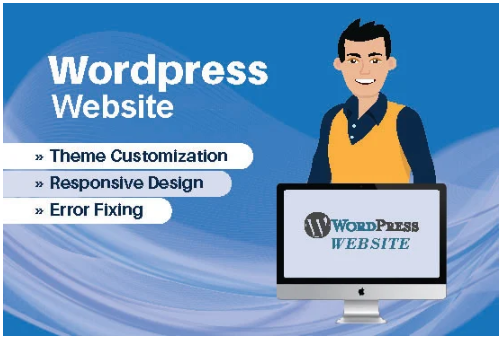 Design,  redesign,  fix and wordpress customization
