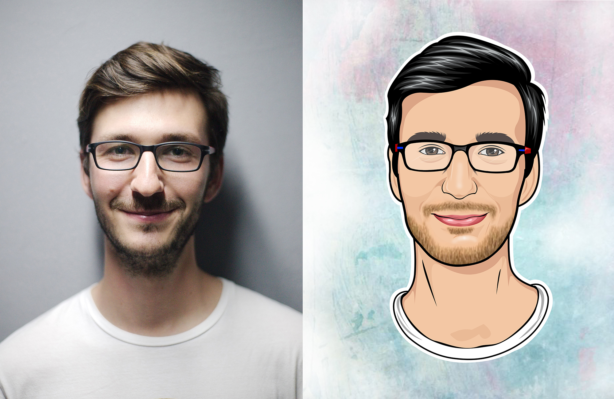 Draw Your Amazing Cartoon Portrait