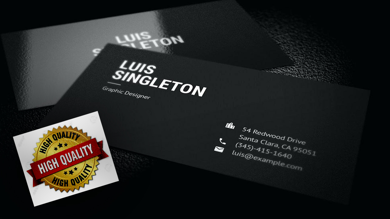 A Premium,Unique and Professional Business Card Design for You