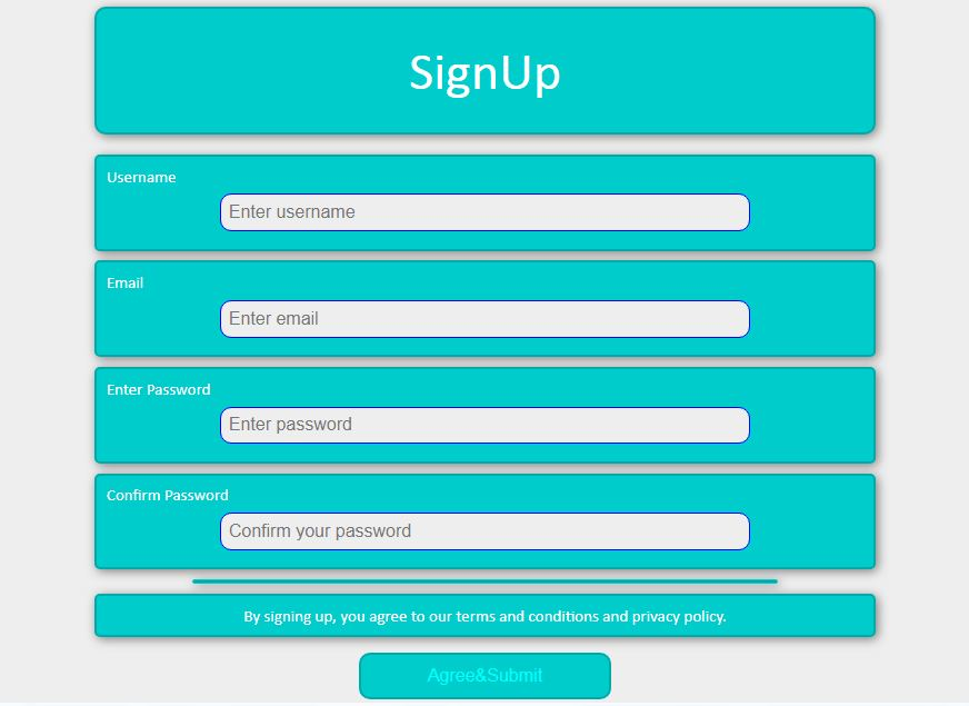Signup and Login form with back end PHP script and email verification