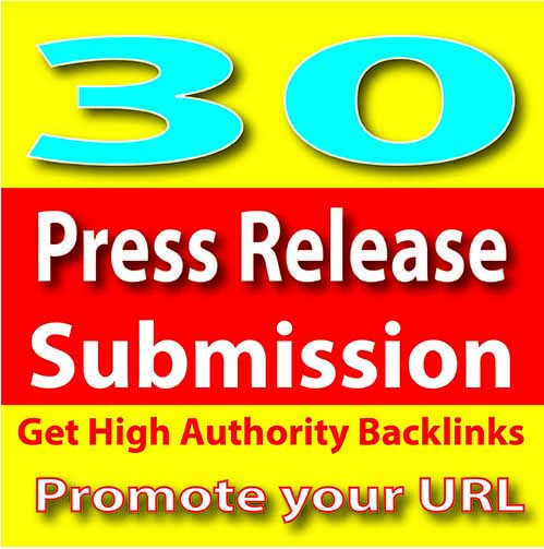 Authority Top 30 Super Press Release Submission for Better Ranking