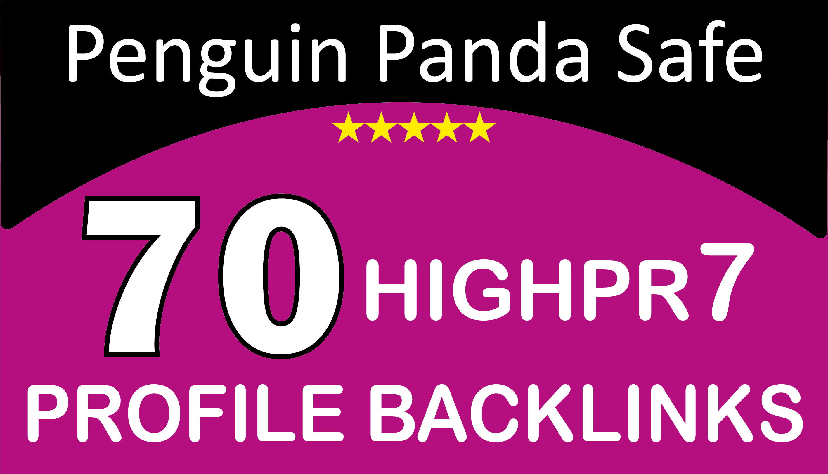 Create 70 Dofollow High PR3-9 Or DA 80+ Profile Backlinks