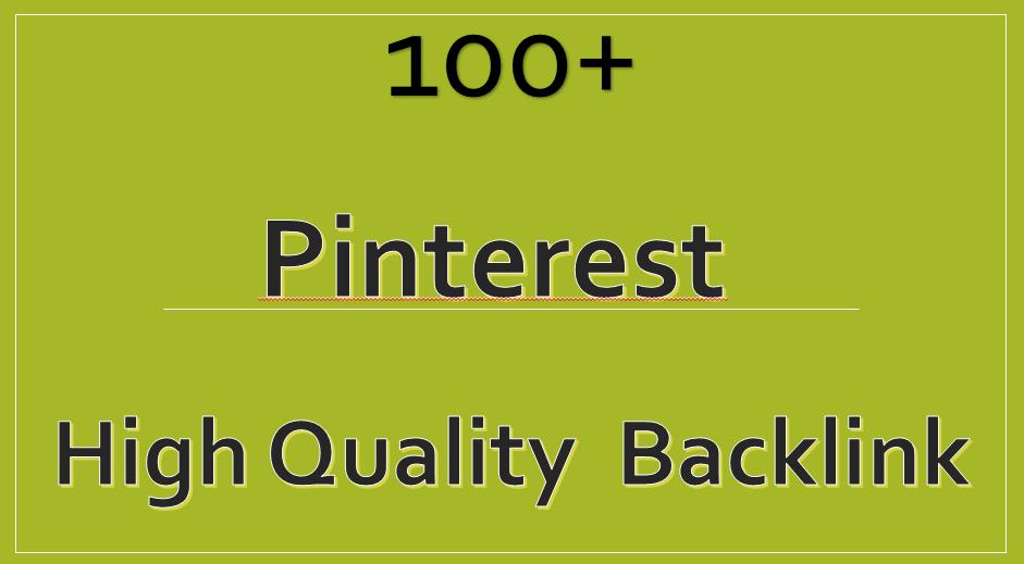 HIGH Authority Pinterest Backlinks Google Safe Ranking