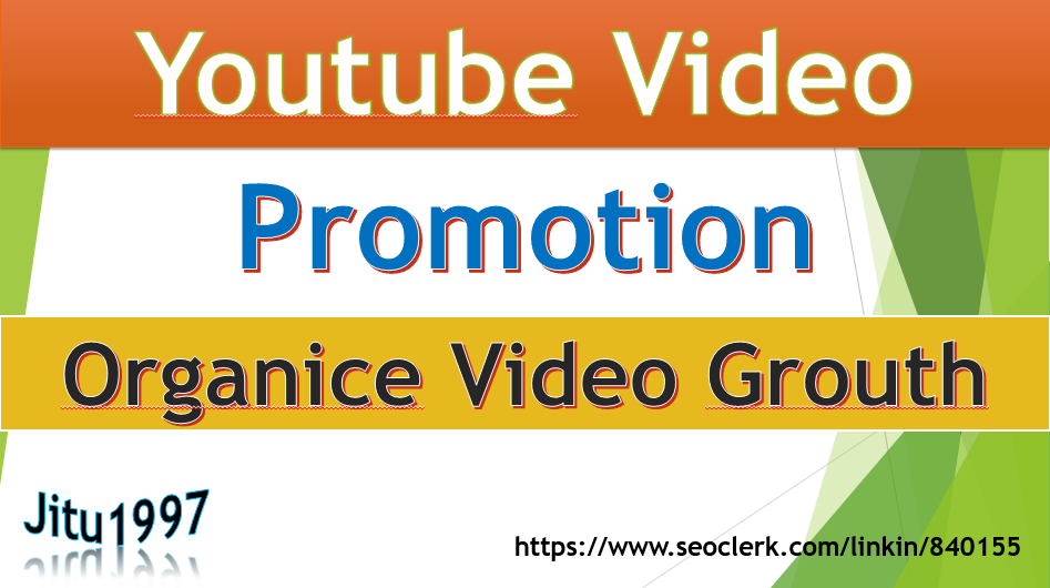Super Fast and Safe Youtube Video Promotion Non Drop