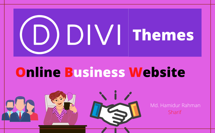 Create business websites with Divi themes