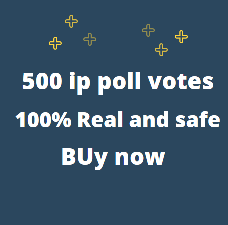 Must Get 500 Different IP Votes On Your Online Poll