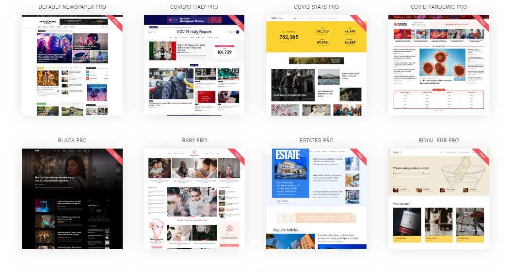 Premium Newspaper Theme with GPL license 100% clean files