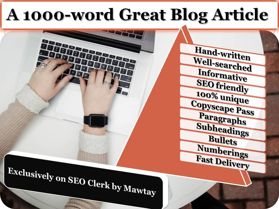1000-Word Well-Searched Blog Article