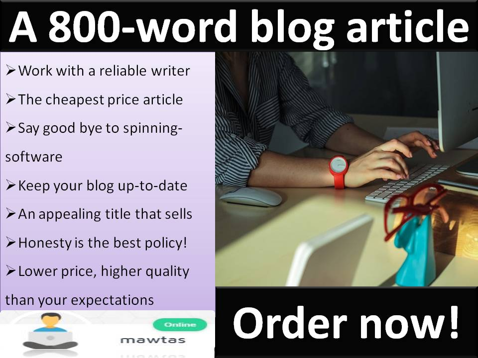 800-Word High-Quality Blog Article