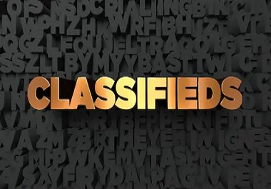 I will do top 50 classified ad posting site with SEO backlinks for your website
