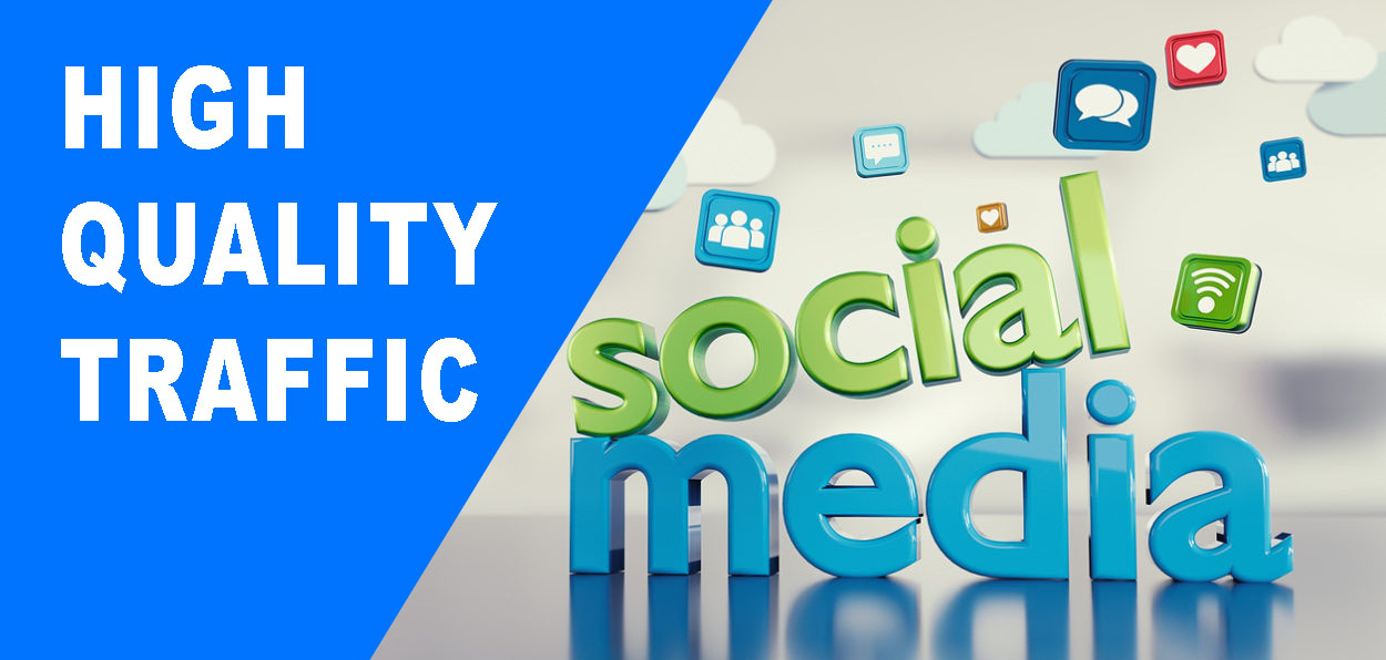 30 Days Unlimited Daily Traffic from Social Media to Your Website