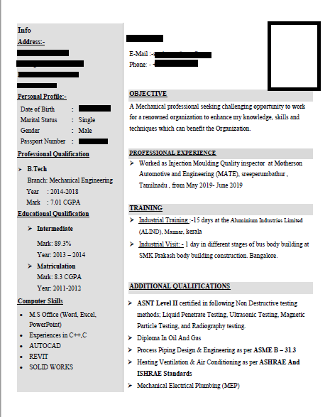 Resume specialist,  for attractive resumes contact me
