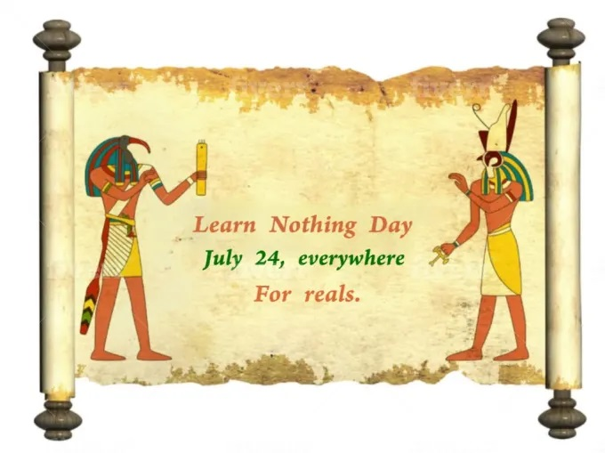 Write Your Message On Papyrus from pharaoh