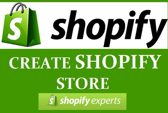I will create and design your shopify complete websit or store