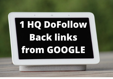 1 High Qaulity DoFollow Backlink from Google DA 99