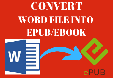 I will manually Convert your Word file into Epub/Ebook