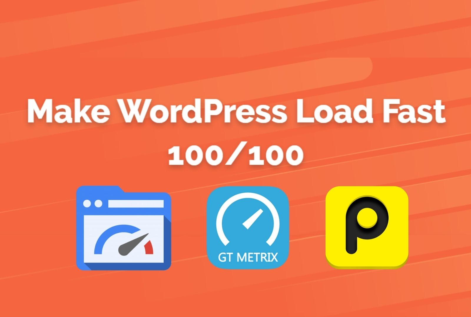 Do WordPress speed optimization and Increasing Google Page Speed Score