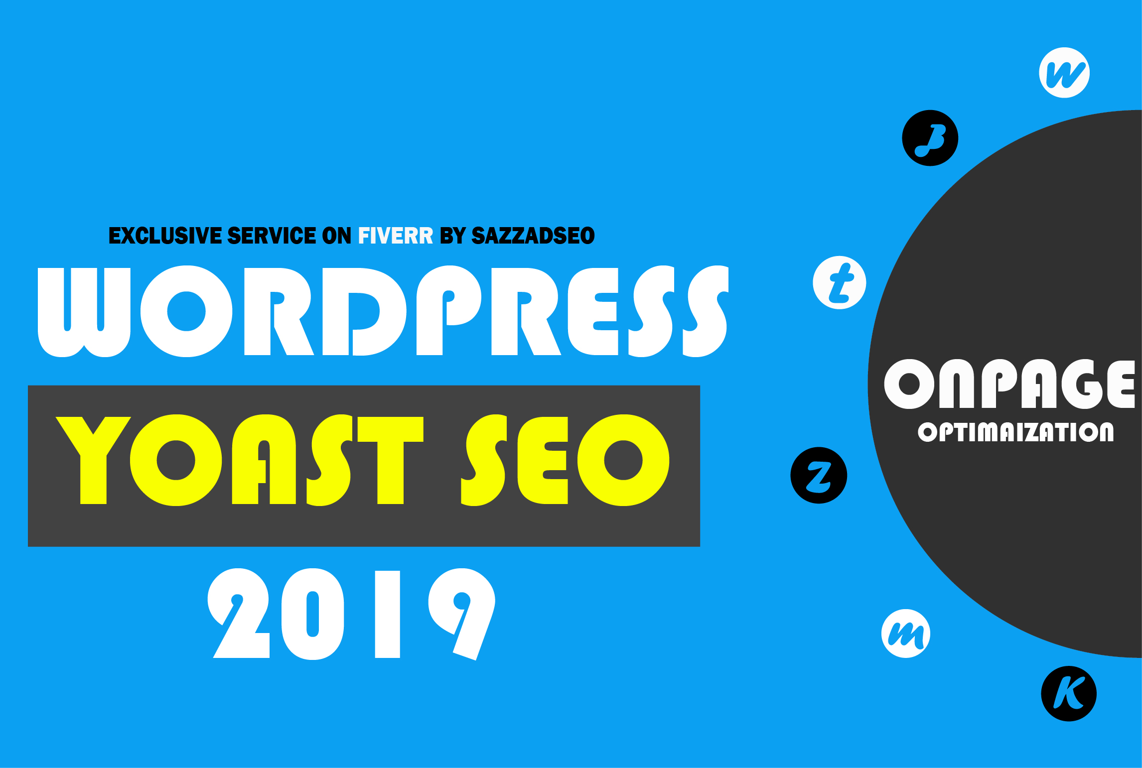I will do Wordpress Yoast SEO on page seo