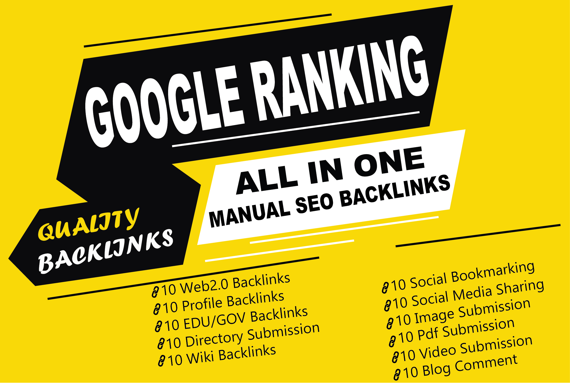 All In One SEO Backlinks Link Building Service