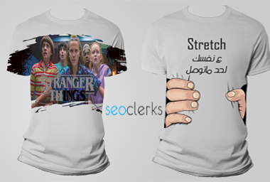 Design (2) T-shirt professional , innovative with high quality