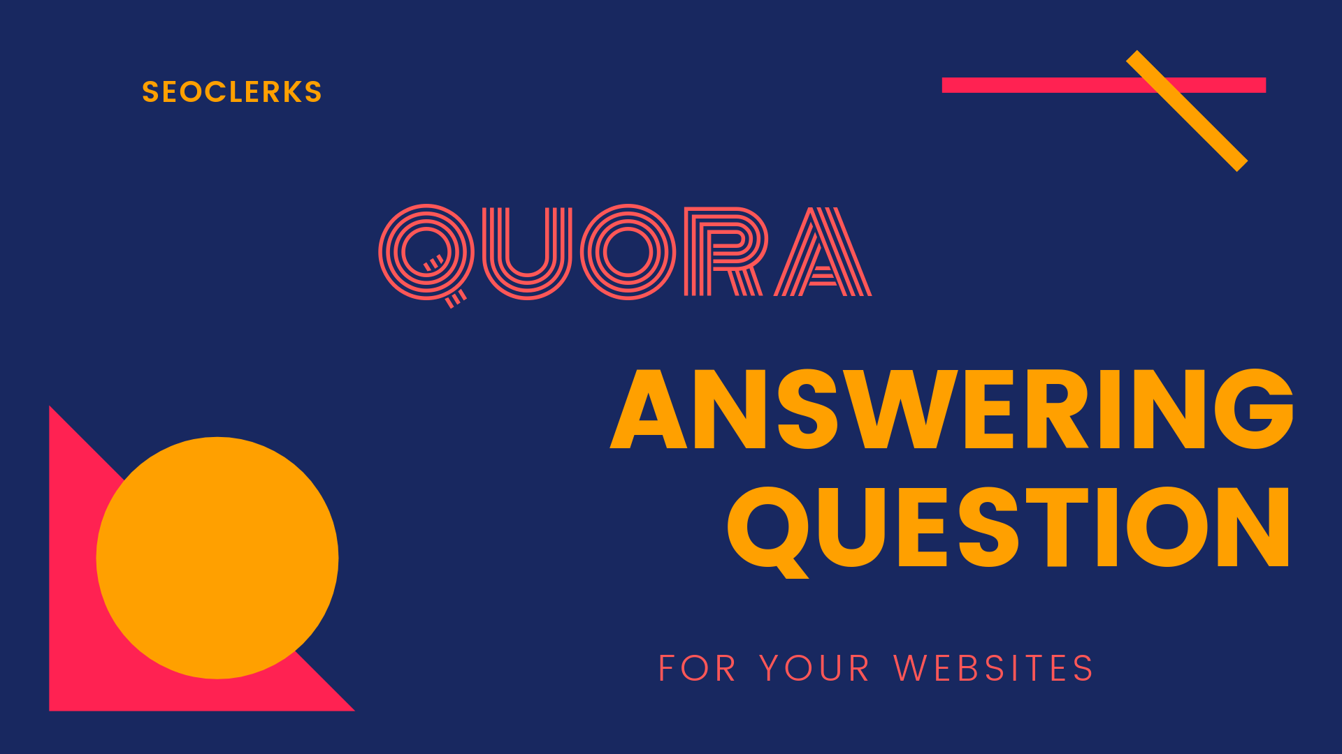 Promote your Website 10 quora answers with highly visited Quora profile
