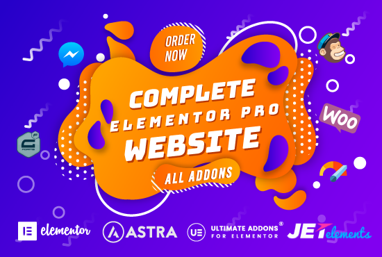 Create WordPress Website With Elementor Pro And Astra Pro With All Add-Ons