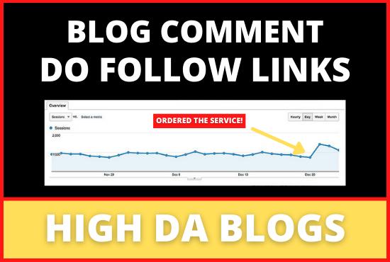 Do Follow Blog Comment Backlinks For Profile Diversification