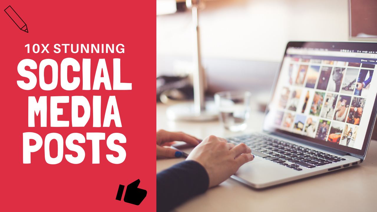 I Will Design 10 High Quality Social Media Posts