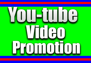 Non Drop Youtube Promotion & Social Media Marketing Organic