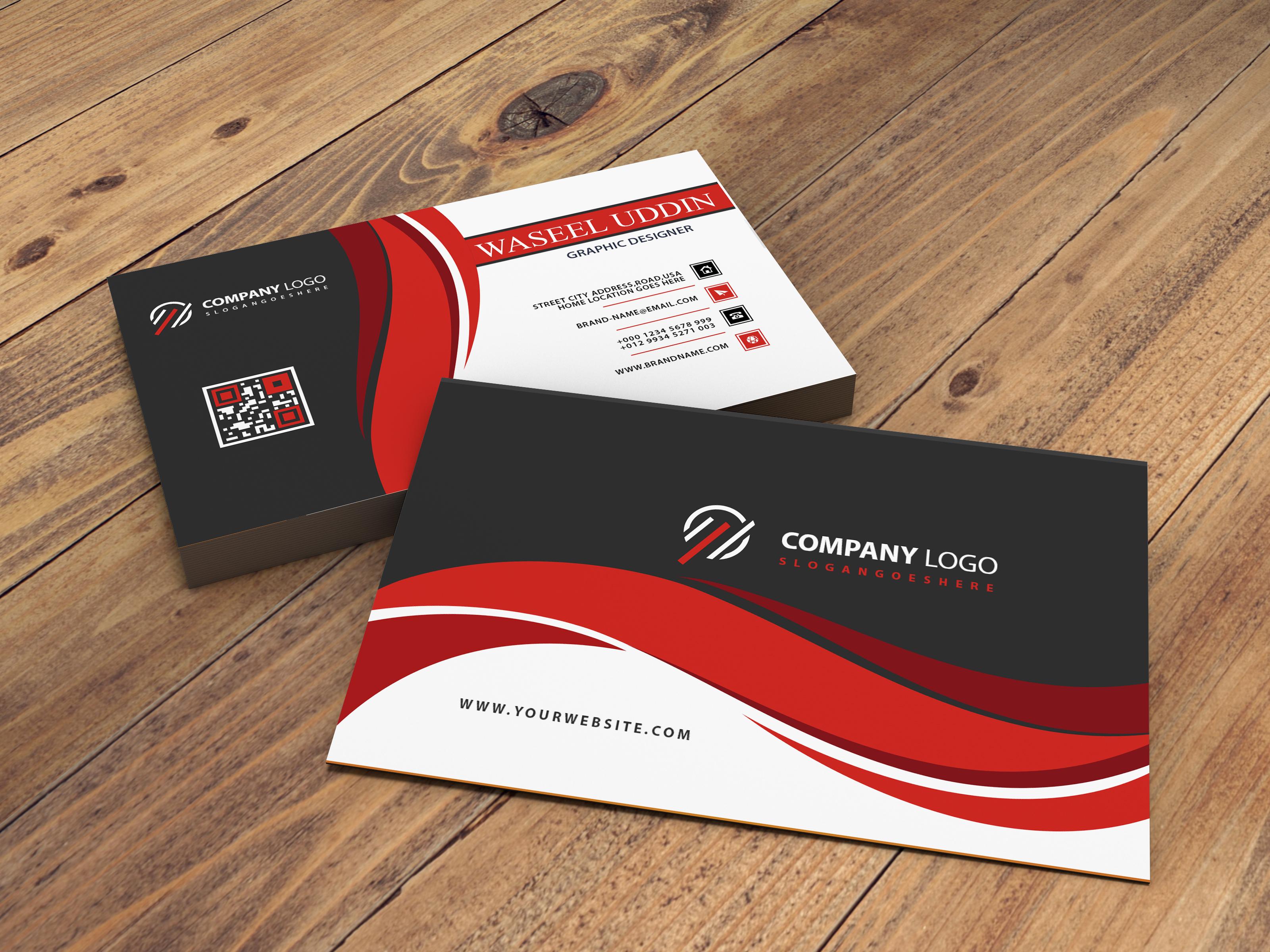 Design A Professional Business Card.