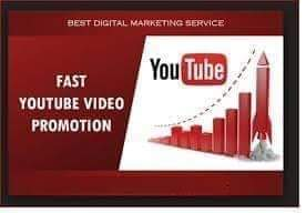 Higher you tube video promotion in a days