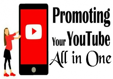 YouTube package Promotion All In One Service Within 24 Hours Complete