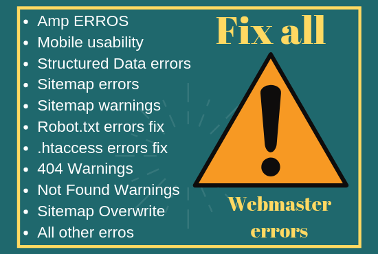 I'll Convert your website to AMP and fix all AMP errors in webmaster