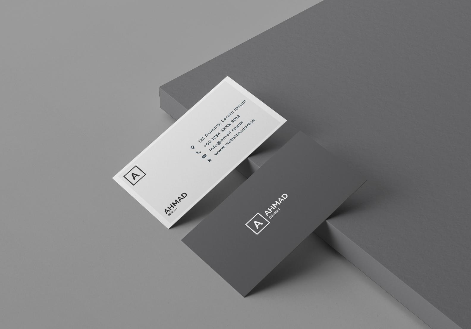 Modern Buisness card design for you