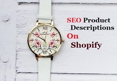 SEO Product Descriptions For 20 Items On Shopify