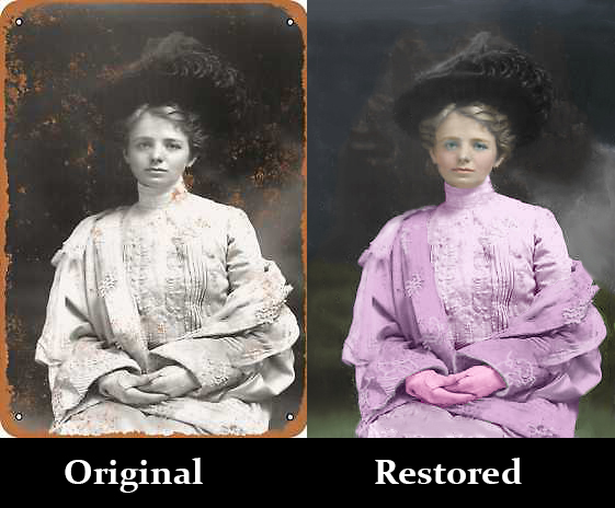 Photo restoration - Photo editing