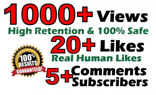 YouTube Video Promoted Service Non Drop Guaranteed