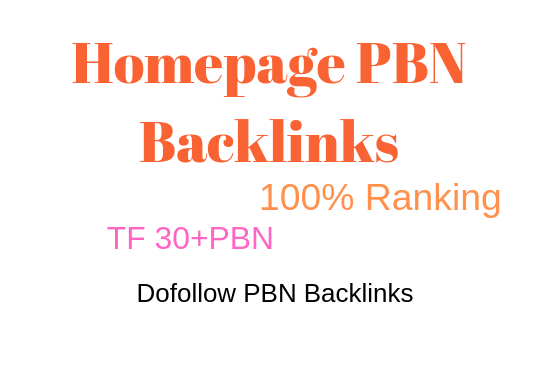 I will provide you 15 pbn backlinks from tf 30 plus 30