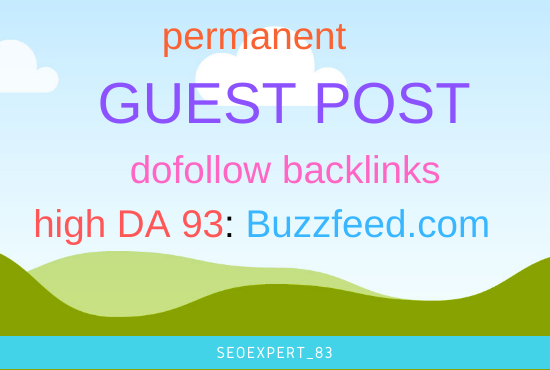 I will Publish Your Article on high da 93 Website with dofollow backlinks