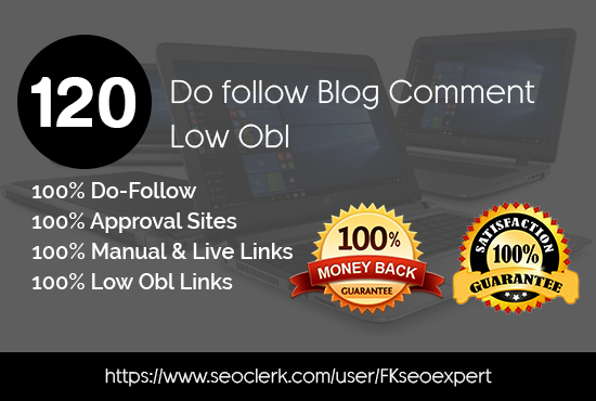 Do 120 High Authority Dofollow Blog Comments Backlinks