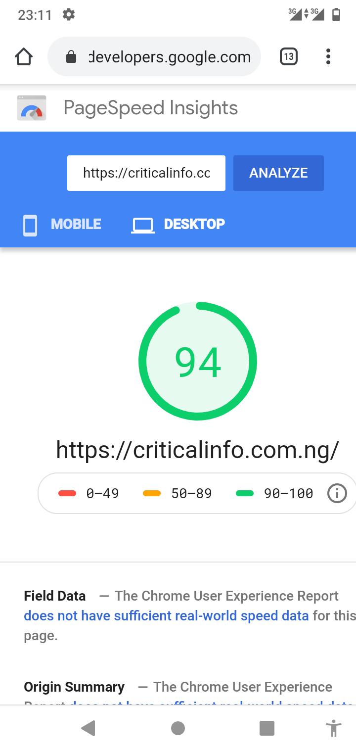 Best Wordpress Google Pagespeed Optimization 2021