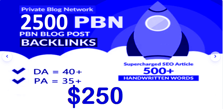 2500 HIGH TRUSTFLOW DA 35+ PA 35+ HOMEPAGE Web2 PBN DOFOLLOW BACKLINKS