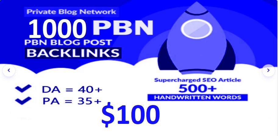 1000 HIGH TRUST FLOW HOMEPAGE Web 2.0 PBN SEO DOFOLLOW BACKLINKS